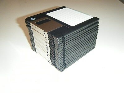 "Bulk 20 used 3.5"" floppy disks vintage computing"