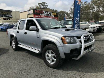 2011 Holden Colorado RC MY11 LX-R Silver Manual 5sp M 4D UTILITY