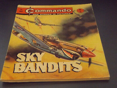 Commando War Comic Number 497!,1970 Issue,good For Age,48 Years Old,v Rare.