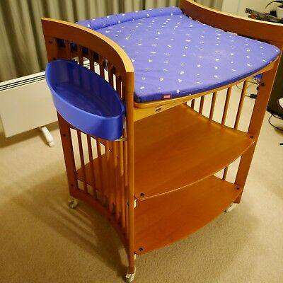 Stokke Care Change Table With Mat And Side Trays - Sydney