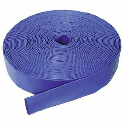 "2"" I/D Blue Layflat Delivery Hose - 10m Length, Max Pressure 4.5 Bar"