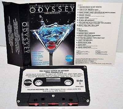 ODYSSEY       - THEIR GREATEST HITS -                              Cassette Tape