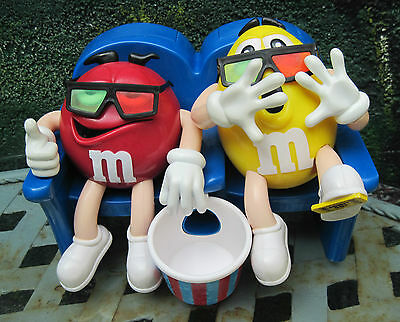 M & M Spender Dispenser Sammlerstück Red & Yellow im 3D Kino !!!