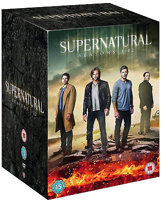 SUPERNATURAL COMPLETE SERIES COLLECTION 1-12 DVD Season Jensen Ackles UK New R2