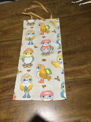 Beautiful Owls In Hats Baby Diaper Nappy Stacker-- New, Free Post,  (T11)