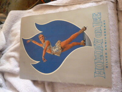 Vintage program Holiday On Ice Skating Show 1970 Silver Anniversary 25th Old VGC