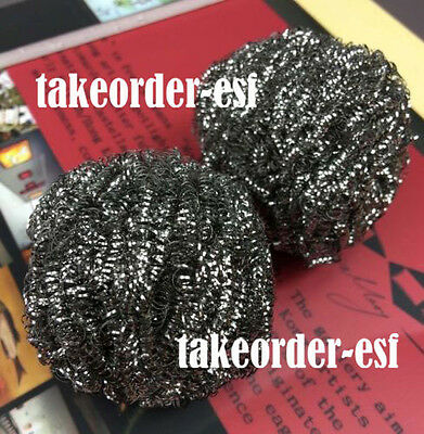 1Pcs Soldering Solder Iron Tip Cleaner Cleaning Wire Sponge Ball