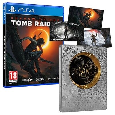 Shadow of the Tomb Raider + Steelbook PS4