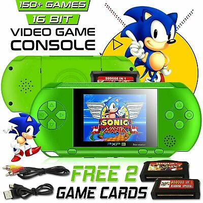 2.8 inch PXP 3 Slim Station Game Console 150s of Games Portable Christmas Gift