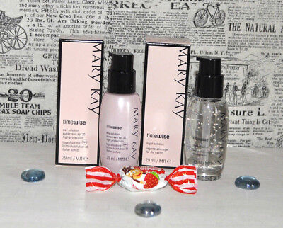 Mary Kay timewise Day SPF30 + Night solution Set Neu Ovp tolle Geschenkidee !;-)
