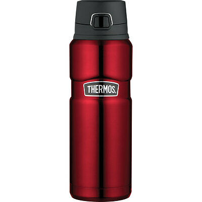 Thermos Stainless King Insulated Stainless Steel Drink Bottle 24 oz Cranberry