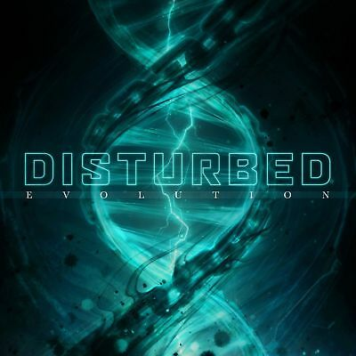 Disturbed - Evolution - New CD Album - Pre Order Released 19/10/2018
