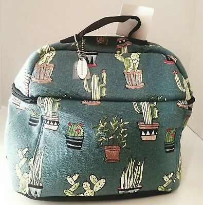 Cactus lunch bag NWT