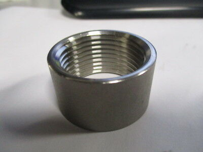Half Coupling 150# 304 Stainless 1""