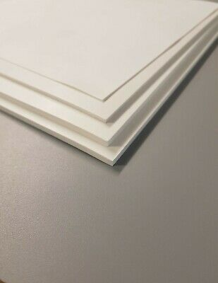 White Silicone Solid Rubber Sheet Various Sheet Sizes & Thicknesses-Up To 200°C