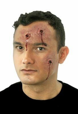 Woochie Body Hits Latex FX Prosthetic Bullet Wounds Halloween Special Effects