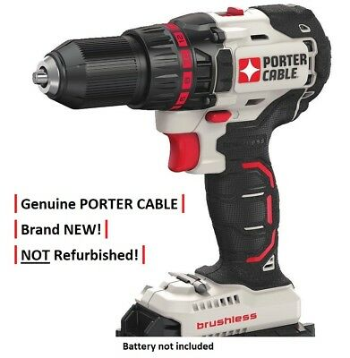 Porter Cable PCC608 20V Volt Max Li-Ion Compact Brushless Drill / Driver NEW!