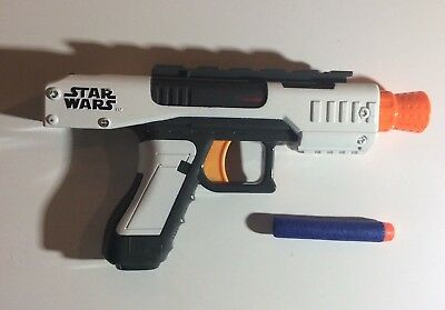 Nerf N-Strike Star Wars Clone Wars Single Shot Blaster Soft Dart Gun White