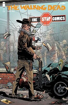 Walking Dead #1 15Th Anniversary One Stop Comics Variant Limited to 500!