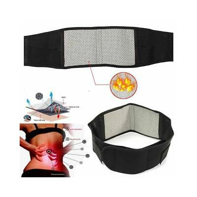 Deluxe Double Pull Magnetic Lumbar/ Lower Back Support Belt Breathable Brace New