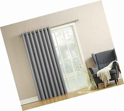 Sun Zero Easton Blackout Patio Door Curtain Panel 100 X 84