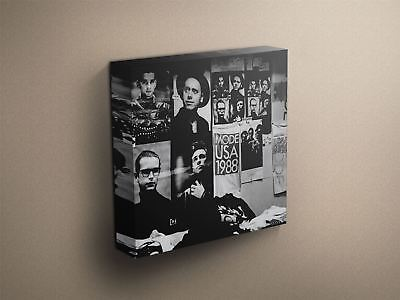 "Depeche Mode ""101"" Cover Art Canvas Art Print #002813"