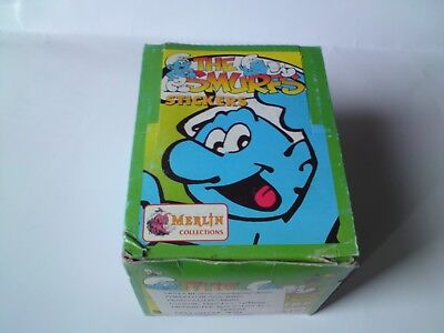 Smurfs MERLIN box with 50 packs