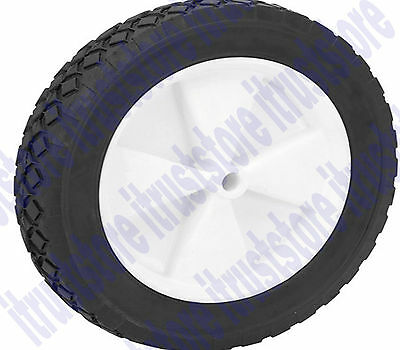 "10"" Inch Solid Hard Rubber Flat Free Replacement Tire Wheel Rim Dolly Hand Cart"