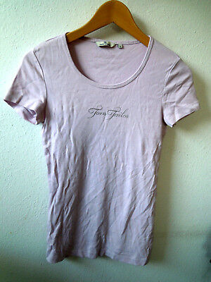fast neu Tom Tailor Marken T-Shirt Gr.S 36 Flieder Baumwolle Damen Top