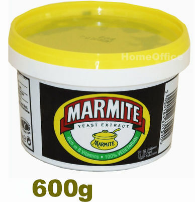 New Marmite Yeast Extract 600g - Free Shipping from the UK