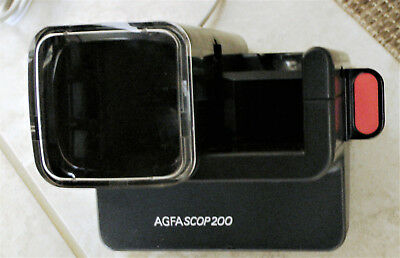 AGFASCOP200 Slide Viewer for 5cm x 5cm Slides / AC powered / Made in Germany