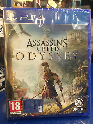 Assassin's Creed Odyssey Ps4 Nuovo Sigillato Italiano Disponibile