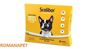 Collare Scalibor Media Piccola 48 Cm Antiparassitario Cani