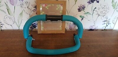 ICANDY PEACH faux leather handle bar & bumper covers turquoise sweet pea