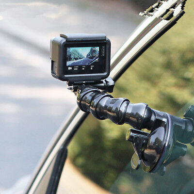 Car Window Windshield Glass Suction Cup Mount for GoPro Hero 6 5 Black Camera
