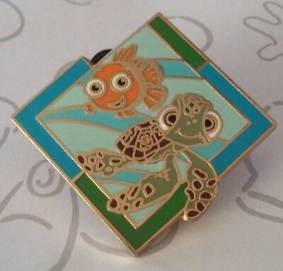 Nemo and Squirt Mickey's Mystery Machine Disney Pixar Collection WDW Pin 56884