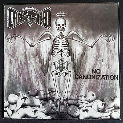 "CARBONIZED | No Canonization | 1990 | 7"" Black Vinyl, Blue Labels"