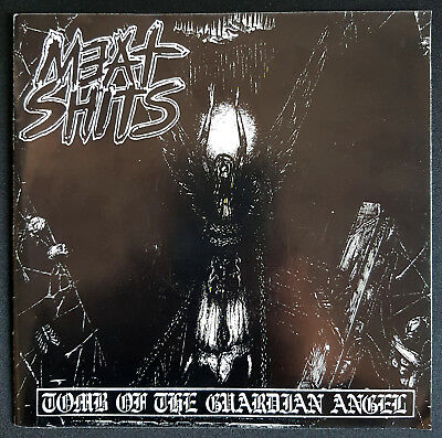 "MEAT SHITS split C.S.S.O. | Tomb Of The Guardian Angel | 1995 | 7"" Vinyl"