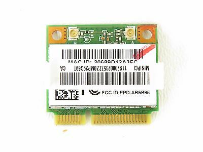 Lenovo N580 Laptop Wireless Wifi Card AR5B95 Tested