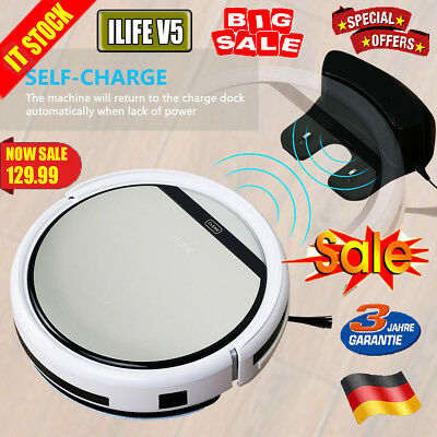 ILIFE V5 Smart Cleaning Robot Aspirateur Nettoyeur Automatique Balayeuse Machine