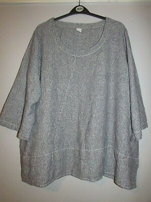 f204d64772d COTTON TRADERS TUNIC Top Patchwork Effect size 22 - £4.99   PicClick UK