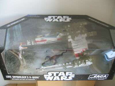 STAR WARS - TCS - Luke Skywalker´s X-Wing - Dagobag Swamp & Dragon Snake