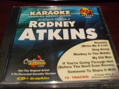 Chartbuster 6+6 Karaoke Disc 20592 Rodney Atkins Vol 1 Cd+G Country Multiplex