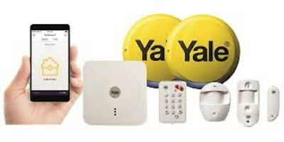 Yale SR-340 Smart Home Alarm, View and Control Kit