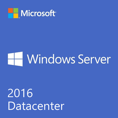 Microsoft Windows Server Datacenter 2016  Bit/64 Full version
