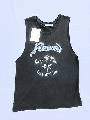 88b821e1fc0b0f NWT DAYDREAMER POISON Tank Top Size Medium Every Rose Has Its Thorn ...