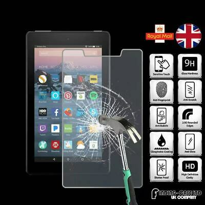 Tempered Glass Screen Protector For Amazon Fire 7 (7th Gen 2017) with alexa