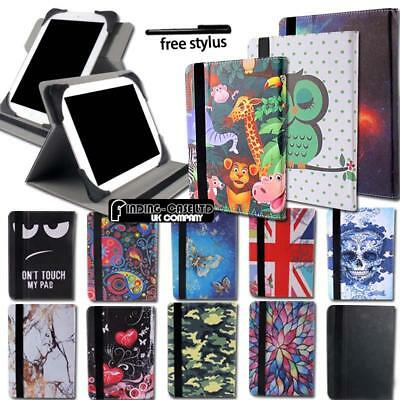 Folio Leather Silicone Rotating Stand Cover Case For Various CHUWI Tablet