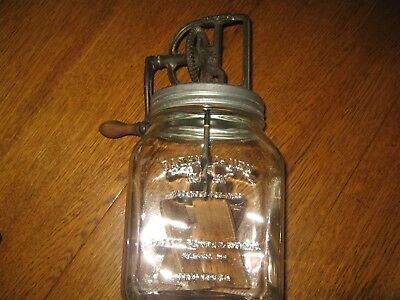 Vintage Daisy Butter Churn #40 with Thermometer &  Owners Pamphlet