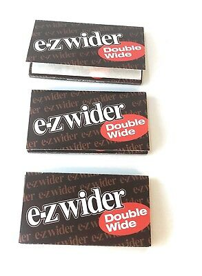E-Z Wider Double Wide Rolling Papers 3 Packs
